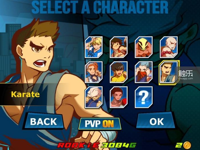 游戏甚至提供了Game Center多人模式,可惜一直找不到配对的玩家。另外,隆,你是不是走错片场了?