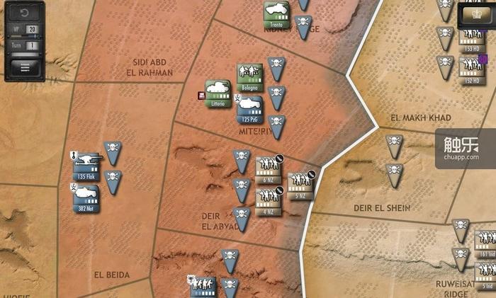 战场上双方所布的地雷