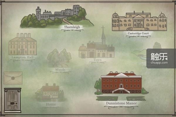 大地图界面可以选择下一步去拜访哪位闺蜜/绅士
