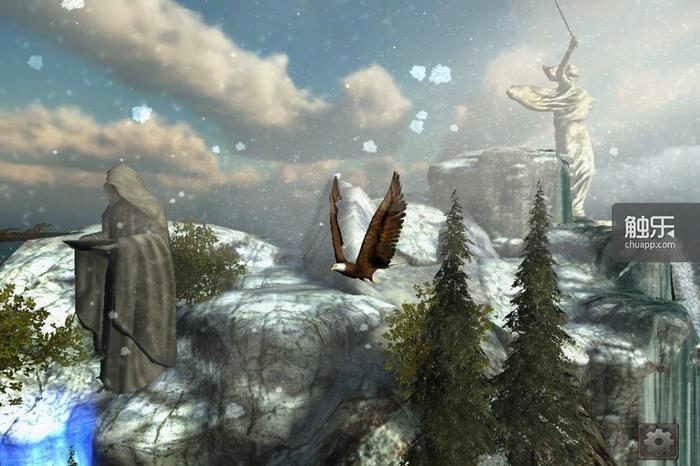尼米亚世界特有的动物精魂系统得以再现,你甚至可以变成一只鸟飞翔在高空中