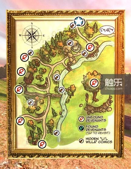 大地图可以让玩家在沙箱探索时不至于迷失方向