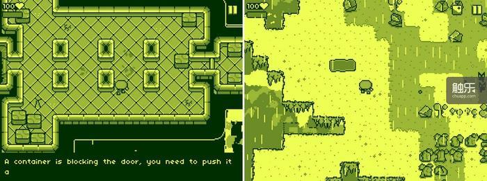 """游戏的画面效果已经不能用""""怀旧""""一词来形容,这分明就是GB屏幕的放大版;训练关放在了飞船上,之后你就被当太空垃圾丢掉了"""