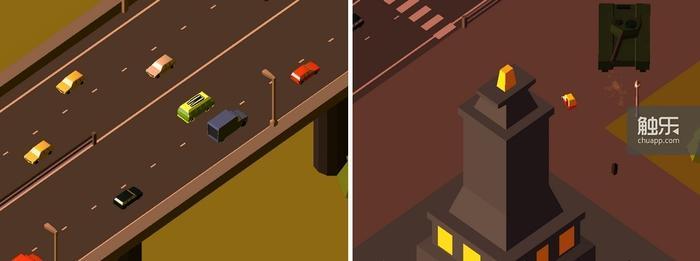 在高速公路上开得快点有错嘛?用坦克轰炸三轮车更是过分