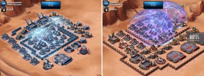 帝国基地和反抗军基地