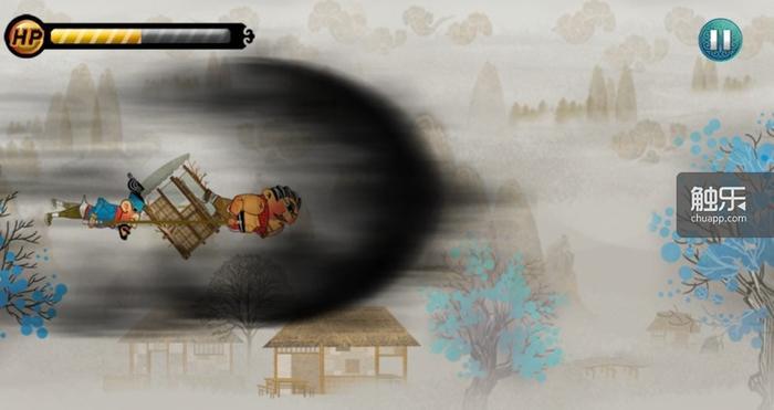 4种道具宝物:黄金包子可以回满体力,吸金葫芦可以吸收周围财宝,金钟罩可以抵挡一次伤害,冲刺酒神可以无敌冲刺吸金