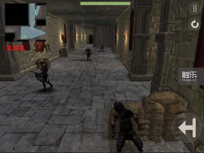 城堡中的暗杀非常刺激,步步为营很有成就感