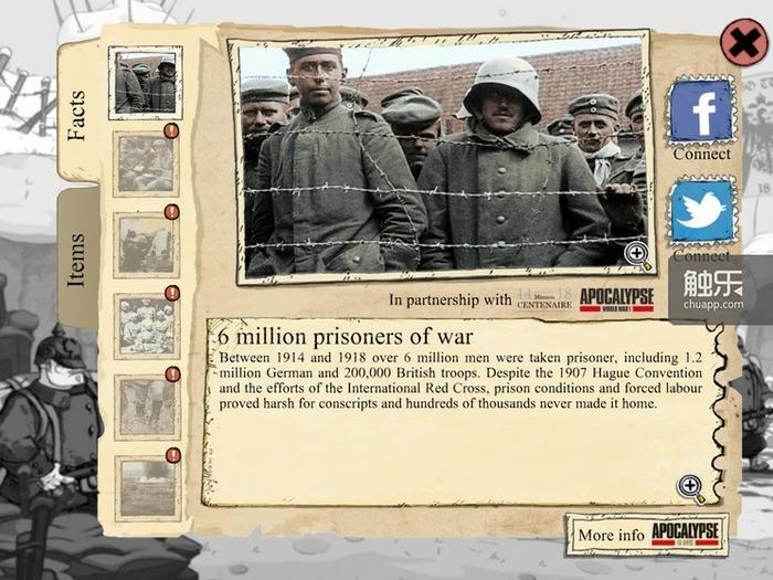 穿插的一战背景资料,进一步增强了历史的厚重感