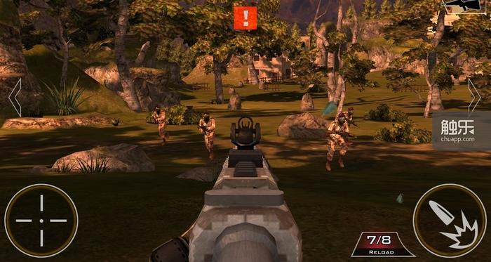 玩家根本无需考虑隐蔽的问题,因为敌人根本就不会开火