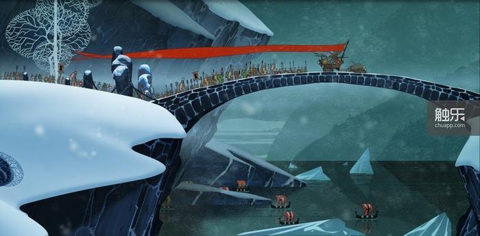 行军画面,仿佛在看一部来自迪士尼的战争题材大片