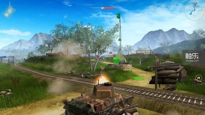 这么可口的画面,我都想要学着开坦克了