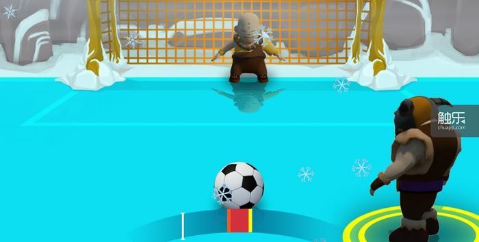 这恐怕是扑点球最容易的一款足球游戏了,等球射出来再扑方向都来得及