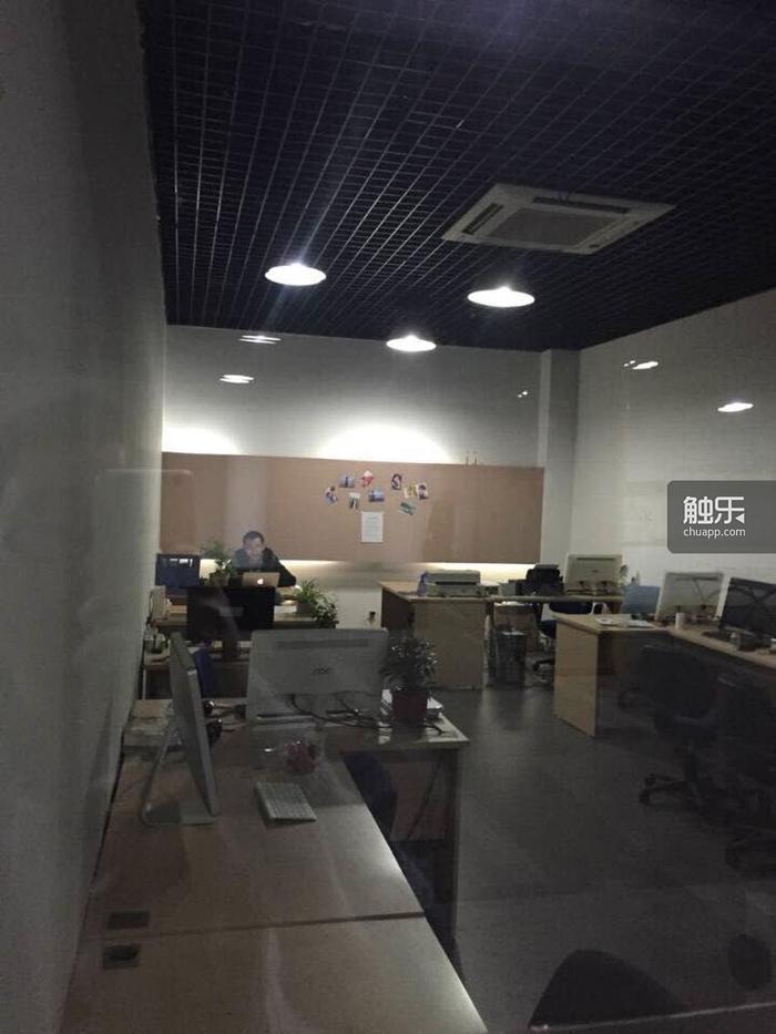 张文军和杨里成立的炎上科技和鸿尚科技这两个公司的共同办公地点,目前公司仍在维持