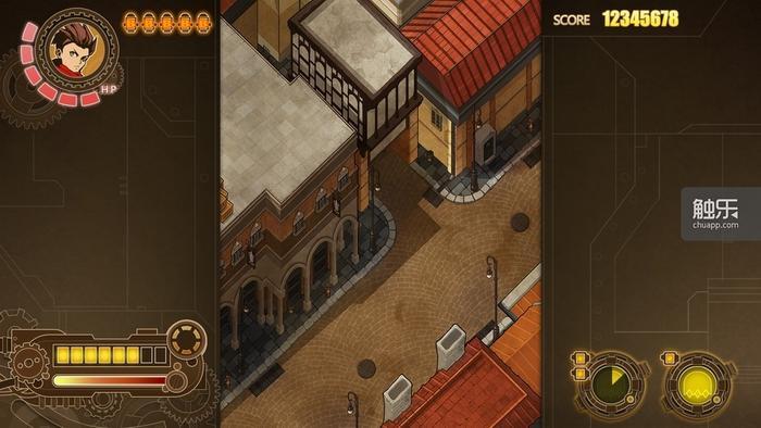 还在开发当中的《愤怒军团》PC版画面