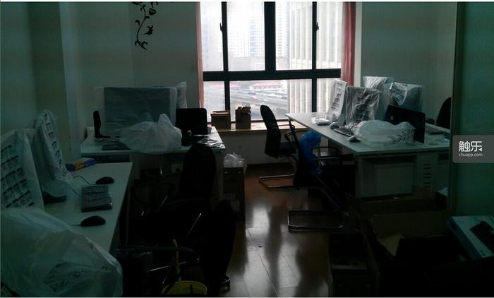 陈晨他们位于上海的新公司办公室,打算承接游戏美术外包