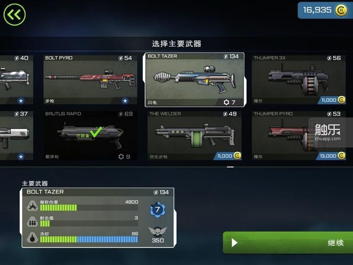 游戏内各种枪械