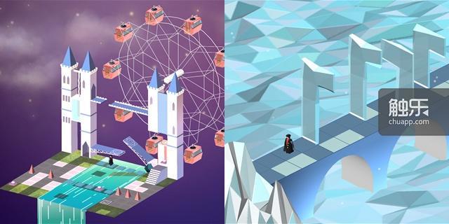 微软中国发布的游戏截图,至少从直觉上,很难不让人想起《纪念碑谷》