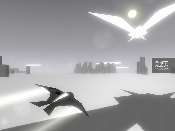 无人机的飞行速度非常快,其造型看上去就像一只燕子