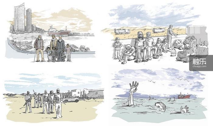 《叙利亚逃亡之路》,玩家扮演一位叙利亚难民,带领家人逃往欧洲