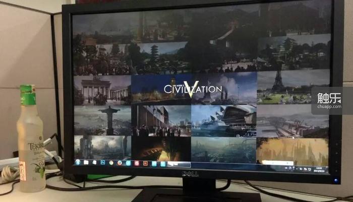 王琛琪利用《文明5》奇观原画自制的壁纸,他是历史游戏爱好者,尤爱Paradox的《欧陆风云》等系列