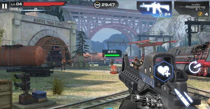 《独立防线》游戏截图