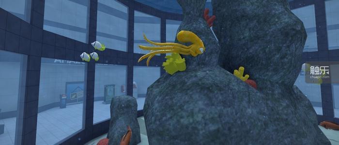 在闪回任务中,我们将要控制汤米从水族馆中脱出