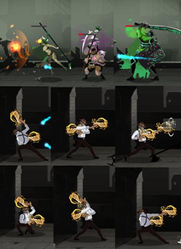 《吞魔者》有着丰富的怪物攻击方式与主角动画。