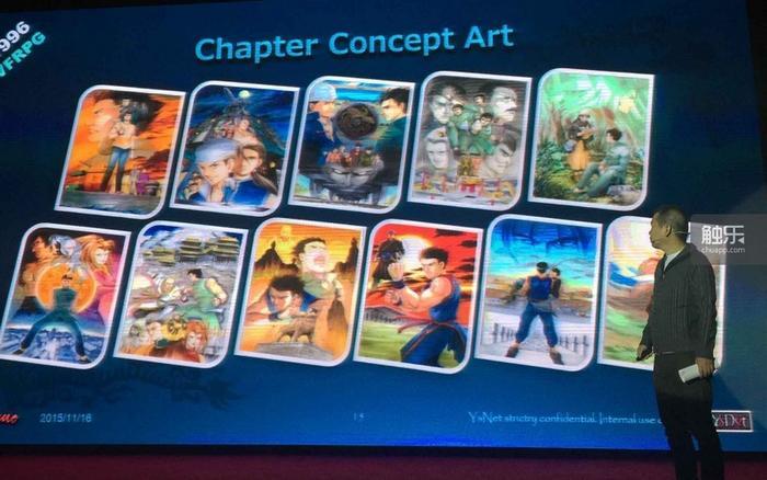 游戏章节的概念图