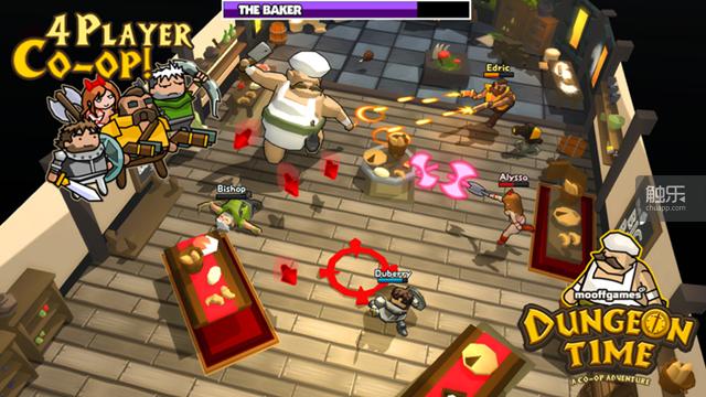 游戏的战斗场景十分激烈,Boss形态各异