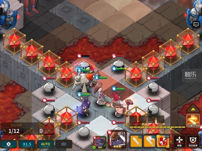 游戏里的活动有比较极端的地形和杂兵规模