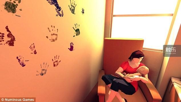 瑞恩希望这款游戏能够帮助其他悲痛的家长。
