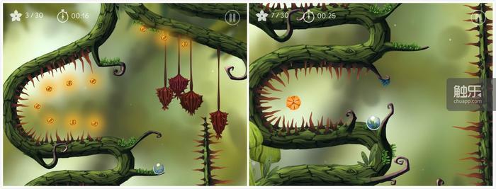 《树》在游戏关卡上力求丰富不单调