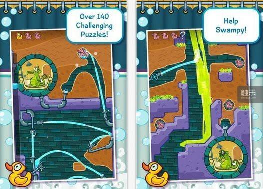 《小鳄鱼爱洗澡》更注意玩家的感受