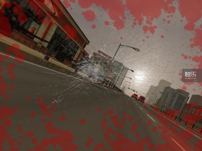 看到这样的撞车画面,有过摩托车事故的玩家恐怕整个人都不好了