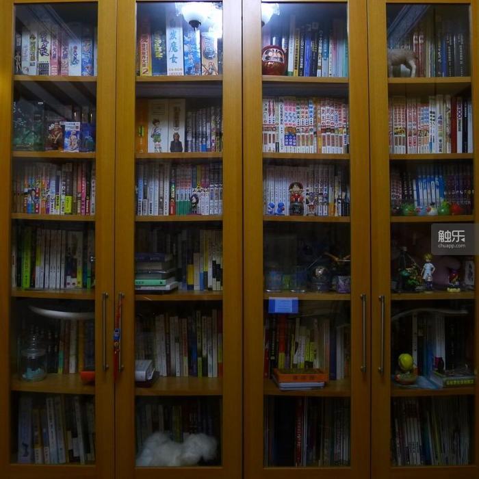 这些书柜经常会间接启发王妙一的灵感。