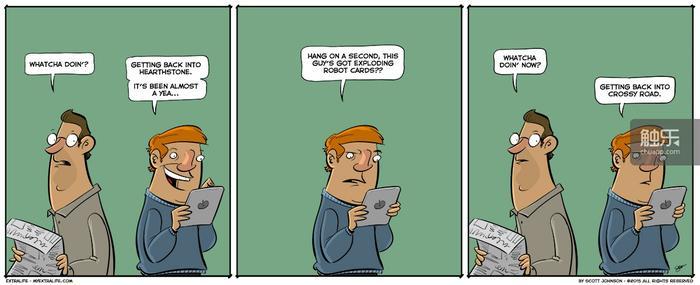 《炉石传说》的漫画