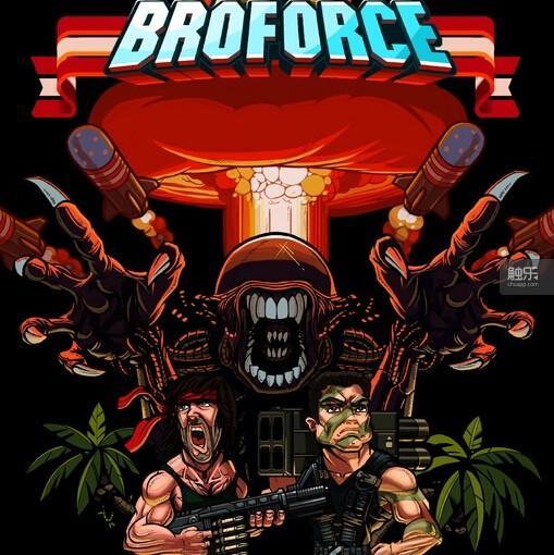 《Broforce》比较依赖精细操作