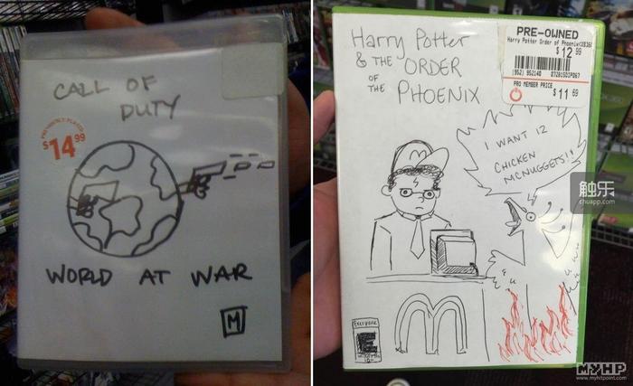 我觉得画《哈利·波特与凤凰社》游戏封面的店员,应该可以为我们的夜话做画师了