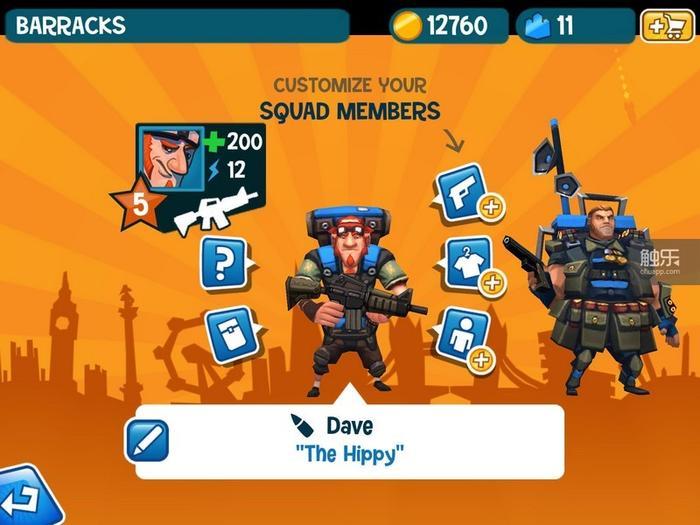 在游戏中相当特殊的能量系统的规则之下,Dave的突击队员技能和小身板赋予了其极强的机动作战能力