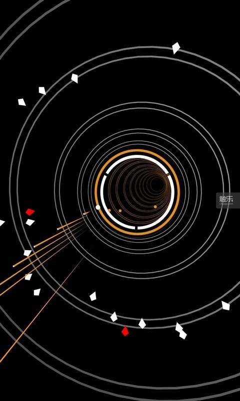 一旦目标从白色转入红色,就意味着它们要开始对地球实施直线冲撞了