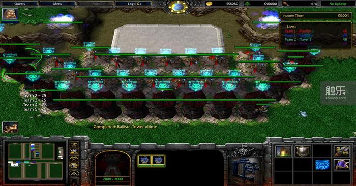 《魔兽争霸》中的塔防地图