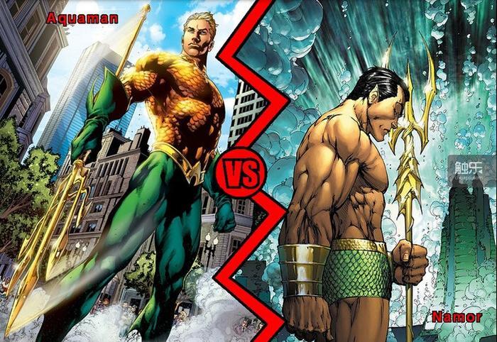 """DC和MARVEL相互之间""""太过像""""的英雄不是一个两个,但积年累月,经过一种彼此的调侃,形成了一种微妙的约定俗成"""