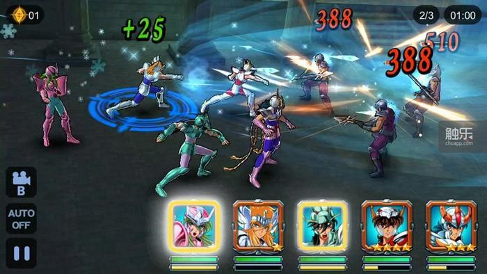 游戏战斗画面截图