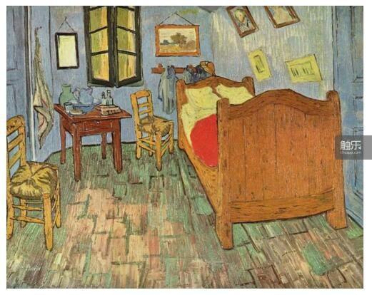 《梵高在阿尔勒卧室》第二版