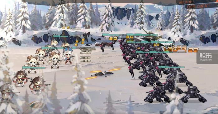 《少女前线》战斗画面