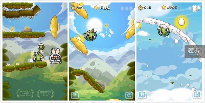 《滚滚龟》的游戏画面