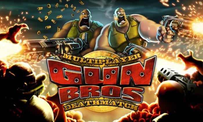 在美国大受欢迎的《Gun Bros》