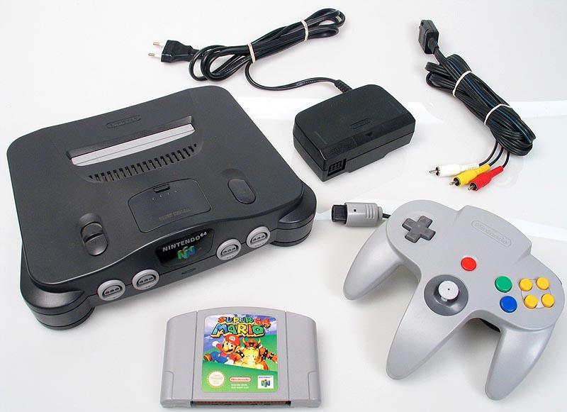 1996年发售的N64游戏机,是颜维群与任天堂的第一次正式合作