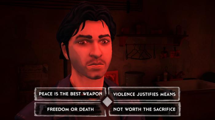 暴力还是和平? 不自由毋宁死? 这都不值得? 我当时热血地选择了自由