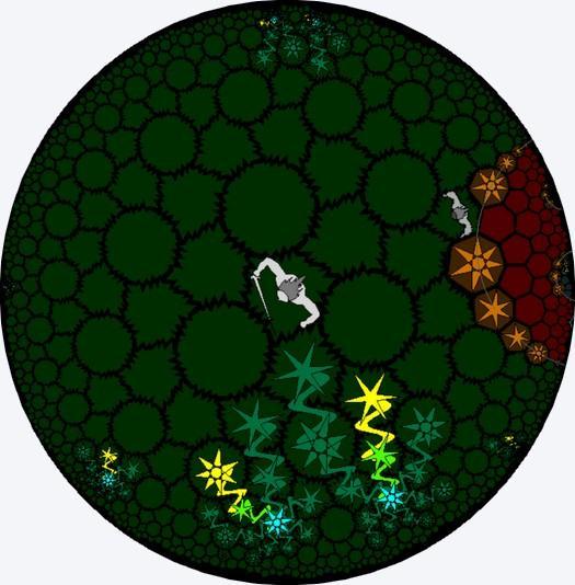 游戏中的10个世界(含一个隐藏)包含了现实中常见的地质地貌