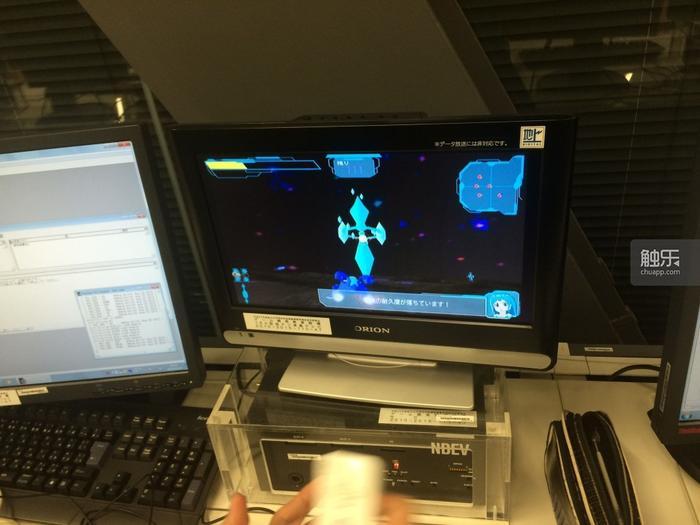 《アクセルフロターズ》(加速漂浮者) 游戏测试画面